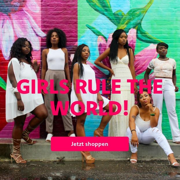 Girls rule the world!