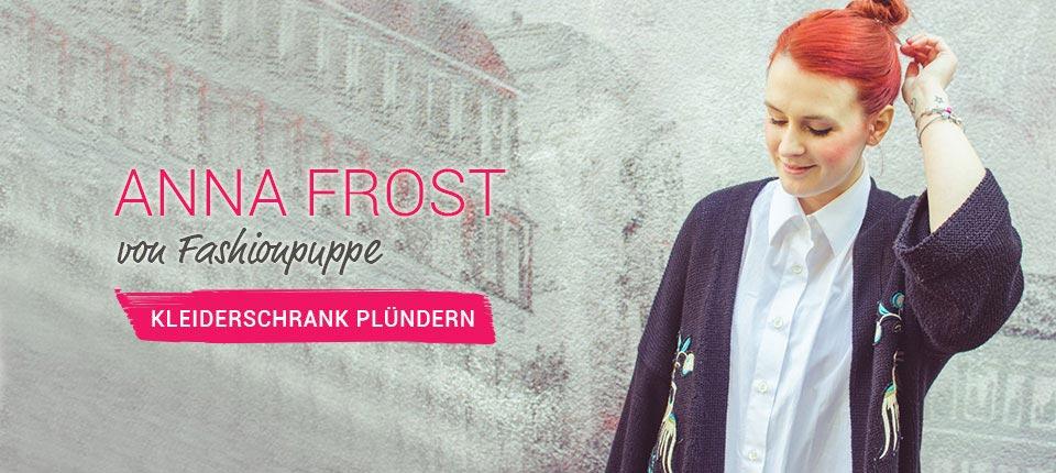 Kleiderschrank von Anna Frost - Fashionpuppe
