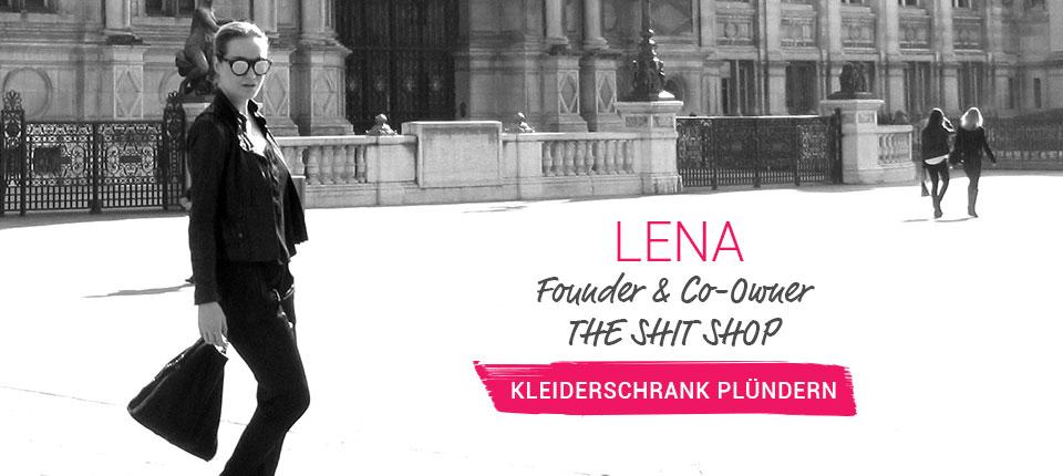 Kleiderschrank von Lena - Founder & Co-Owner von THE SHIT SHOP