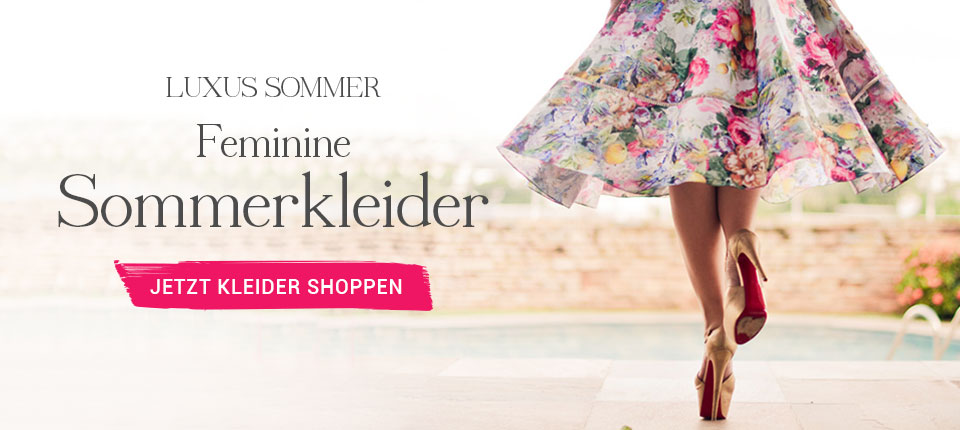 Luxus Sommer - Sommerkleider