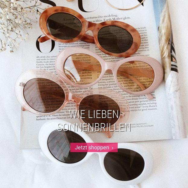 Wie lieben Sonnenbrillen
