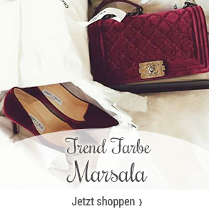 Trendfarbe - Marsala