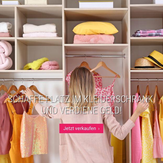 Schaffe Platz im Kleiderschrank  und verdiene Geld!