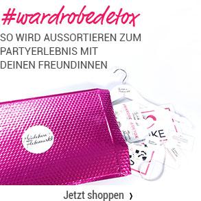 Wardrobedetox Box - Mache Aussortieren zum Partyerlebnis