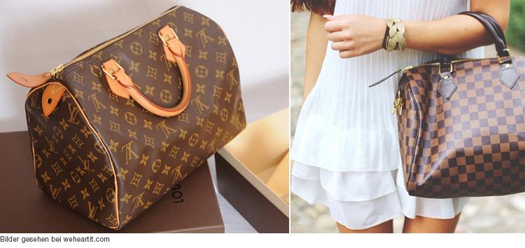 Louis Vuitton Tasche Speedy