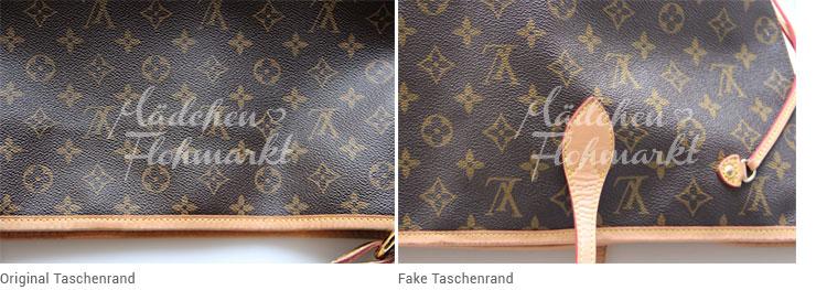 Fälschung Louis Vuitton Erkennen